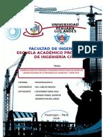 2° Informe -ALTERNATIVA DE CONSTRUCCIÓN DE VIVIENDA DE INTERÉS SOCIAL EN LA CIUDAD DE HUANCAYO UTILIZANDO ESTRUCTURAS DE ACERO EN LÁMINA DELGADA