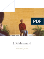 J.krishnamurti Selected Quotes (1)