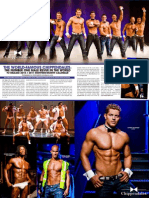 Chippendales Calendar Feature in Playgirl!