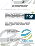 f.tercera Circular - Xxiii Jornadas de La Red Nacional de Investigadoras e Investigadores en Comunicación