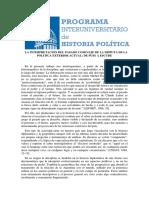 La Interpretación Del Pasado Como Eje de La Disputa de La Politica Exterior Actual. de Puig a Escudé - Alejandro Simonoff