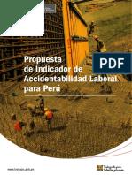 Propuesta Indicador Accidentabilidad Laboral Peru
