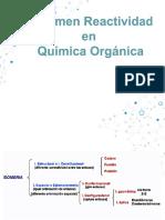 Resumen  reactividad orgánica PSU