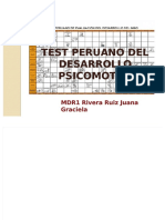 test peruano