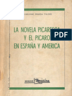 Pereda - La Novela Picaresca y El Picaro en Espana y America