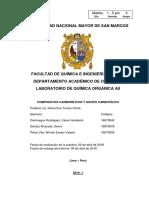 Informe Nº 1 - Química Orgánica II