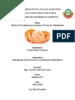 Néctar de Mandarina
