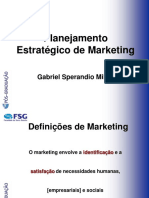 planejamento estratégico em Marketing