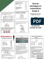 grade 3 parents guide espanol