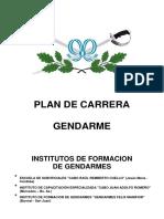 Plan Carrera Gendarme