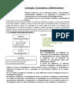 Conceptos y definiciones de Proyecto d Innovacion Tecnologica.