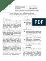 Division Celular y Determinacion de Grupos Sanguineos