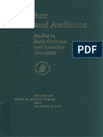 Pauline Allen - Preacher and Audience Studies in Early Christian and Byzantine Homiletics. 1
