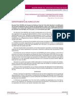 Decreto Foral 19/2018, del Consejo de Gobierno Foral de 13 de abril. Aprobar la modificación de las bases reguladoras de las ayudas de agroambiente y clima y las ayudas a la agricultura ecológica, en el marco del Programa de Desarrollo Rural del País Vasco 2015-2020 aprobadas por Decreto Foral 46/2016, de 21 de junio, y la convocatoria para 2018.