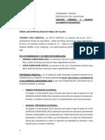 SUBSANA DE APOYO  Y SALVAGUARDA
