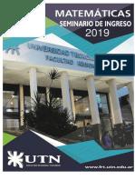 Cuadernillo de Matemáticas Práctico 2019