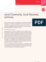 SCI-2-Local Community, Local Discovery