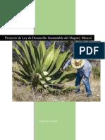 Ley de Desarrollo Sustentable Del Mezcal v Modificada 2 PDF 1