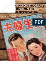 Mark McLelland (Auth.) - Love, Sex, And Democracy in Japan During the American Occupation-Palgrave Macmillan US (2012)