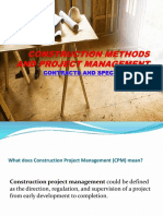 Construction Methods and Project Management