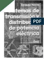 Sistemas de transmisión y distribución de Potencia. Enríquez Harper