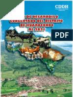 Plan de Desarrollo Concertado Del Distrito de Huarocondo Al 2021