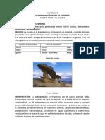 Acción Geologica Del Viento y Agua