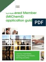 Chartered Member Application Guidance