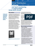 Ground Fault Monitoring