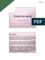 Gravity Surveying