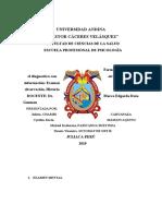 G07 Formas de Relacionar El Diagnóstico Con Otras Fuentes de Información