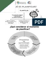 Separata Curriculo Nacional Planificación Gia