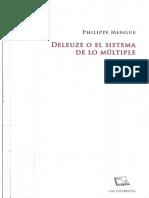 Mengue Philippe - Deleuze O El Sistema De Lo Multiple.pdf
