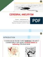 Cerebral Aneurysm IBN Ok