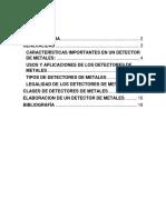 DETECTOR DE METALES MARCO TEORICO