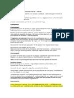 Clasificación de Ceramica Ocros,Etc.