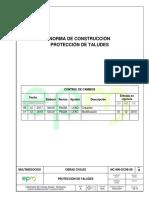 NC MN OC08 06 Proteccion de Taludes EPM