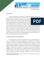 O Gênero Dialógico No Renascimento e o Diálogo Sobre o Prazer de Lorenzo Valla