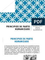 Principios de Parto Humanizado