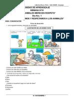 3° NOVIEMBRE - FICHAS DE APLICACIÓN