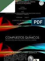 Compuestos Químicos. Tipos de Nomenclatura, Reacciones e Impato Económico y Ambiental [Autoguardado] [Autoguardado]