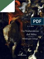 Rios, e.j-la Naturaleza Del Mito Mas Alla de La Mitologia Griega