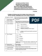 Form f4 Survei - Sosbud Etik
