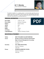 CV Mark-Anthony Paule