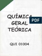 Química Geral Teórica - Polígrafo resolvido