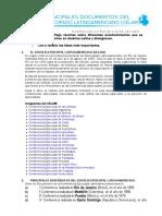 Principales Documentos Del CELAM