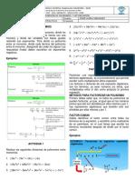 Modulo de Division y Factorización