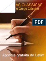 eBook Curso Gratuita Latim