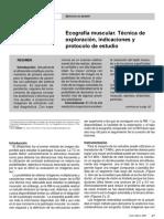 Ecografia Muscular Tecnicas
