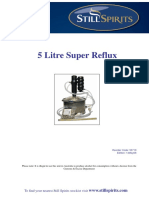 5L Super Reflux Still Instructions